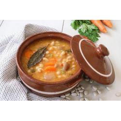 Bean soup (Greek Fasolada)